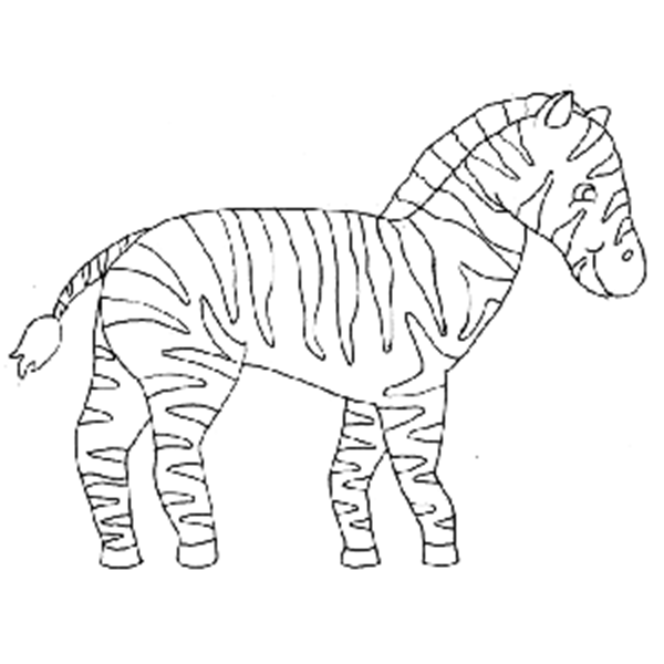 """Zeke"" the Zebra"